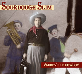 Vaudville Cowboy CD Cover